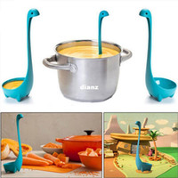 Wholesale Explosion models creative kitchenware Nessie modeling Spoon creative spoon