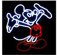 Wholesale Revolutionary Neon Super Bright DESIGN Mickey Mouse Neon Light Bar Pub Sign quot x15 quot Available multiple Sizes