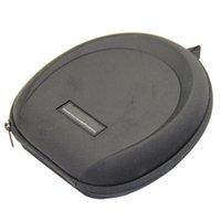 big headphone case - Black Big Waterproof Shockproof Traval Portable Headphone Case Zip Carrying Hard Large Portable Earphone Bag Headset Case