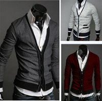 abb sales - Fall Hot Sale new autumn wear double breasted men cloth imported abb cardigan sweater coat
