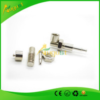 Wholesale Novelty Zinc Alloy Tobacco and Cigarettes Smoking Pipe DIY Screw Style Silver