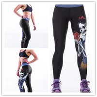Wholesale New Arrive High Waist Gym Fitness Leggings for Women Casual Pants Stretched Pants pants capris For Girl
