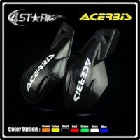 acerbis plastics - ACERBIS Black Plastic quot mm Handlebar Hand Guard Handguard Motorcycle Pit Dirt Bike Motocross MX ATV Quad CR YZ RM KX