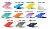 Wholesale Crystal Clear Front Back Protective Case Cover For Macbook Air Pro Retina