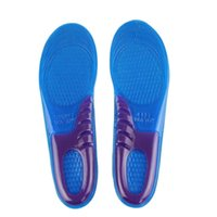 Wholesale Essential Man SIZE Sports Massaging Silicone Gel Insoles Arch Support Orthopedic Plantar Fasciitis Running Insole For shoes