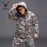 Wholesale TAD V5 Softshell Tactical Military Jacket Men Army Waterproof Sport Soft Shell CP Camouflag Hunting Clothes Outdoor Jacket