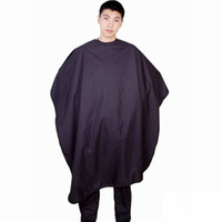 Wholesale 100 Polyester Hairdressing Salon Cutting Cape Barber Cape x130CM Red Black Blue White Color Mixed piece per DHL Free Shipment