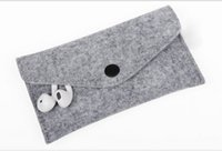 Cheap For Samsung cell phone bag Best felt Customize cell phone Protective sleeve