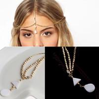 aqua metallic - Fashion New Lovely Metallic Lady Hair Head Band Headband Headwear Accessories Women
