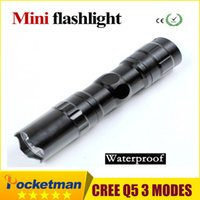 best led lantern - The best quality mini LED Flashlight Strong Lanterna Torch light Waterproof lantern penlight bike light