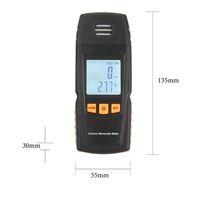 Wholesale 1pcs Handheld Carbon Monoxide CO Monitor Detector Meter Tester ppm GM8805 Hot New Arrival
