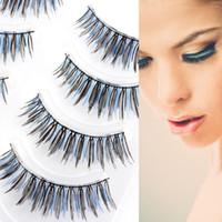 best uppers - Best Upper Eye Lashes Crisscross False Eyelashes Lashes Hand Made Voluminous Pair XM