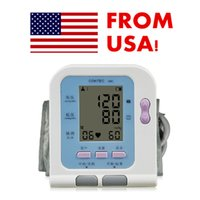 Wholesale FDA CE LCD Digital Arm Blood Pressure Upper Automatic Monitor Heart Beat Careshine US Seller