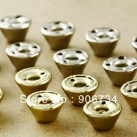 Wholesale New Arrival Barrel Shape Gold Rivet Pack mm DIY Iron Punk Style For Clothes and Shoes