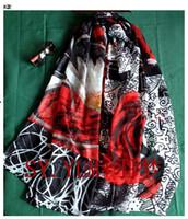 Wholesale New spain brand scarf fashion ladies Scarves wraps green desigual scarf large shawl women infinity silk scarf fre K