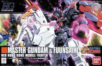 bandai gundam - Bandai Assembly Model Kits Toy Action Figure HG Master Gundam Fuunsaiki Robot Anime Gunpla Builder brinquedos Free Ship