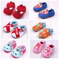 Wholesale New baby shoes first walkers baby shoes baby walking shoes pre walk shoes sz shoes U pick color and size shoes baby wear toddler shoes