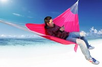 Cheap Wholesale 10pcs lot Camping 2 Person Durable Thicken Hammock Sleeping Hanging Chair Swing Bed Breathable 200x140cm Light Weight