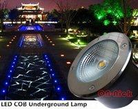 Wholesale 10W LED COB underground light led underground lamps Diameter mm VAC