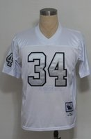 throwback football jersey - Men s American Football Jerseys White With Silver Number Throwback M N Jersey Cheap Rugby Stitched Jersey Uniforms