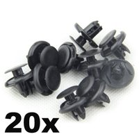 Wholesale In Stock x for Fender Liner mm Hole Clips Car Bumper Clips for Honda Acura Civic Element Pilot SX0
