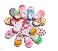antislip flooring - Newborn Antislip floor socks Baby cartoon cotton socks Baby ankle socks pairs