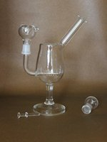 goblet - 2015 Newest Goblet glass bong glass water pipes glass bongs with mm joint