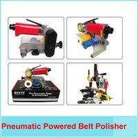 Wholesale Air Belt Sander Pneumatic Powered Belt Polisher polishing machine mm Belt Buffing Machine High Quality Sanding Machines