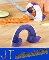 Wholesale Safe Kitchen Craft Non Slip Soft Grip Finger Guard Protector Cut Slice Vegetable Protection MYY13506