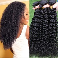 Cheap Kinky Curly Hair Weaves Best human hair extensions