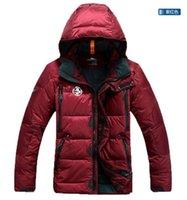 Expédition rapide. Top veste chaude pour hommes. Combinaison de ski en plein air. Veste décontractée de mode. Grand manteau européen.