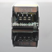 Wholesale LED transformer input V V AC to V A W switching led power supply for led strip light warranty years RoHS CE
