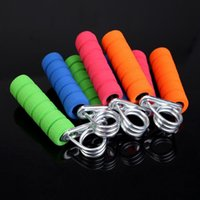 Wholesale New Hand Wrist Arm Strength Exercise Fitness Grip Hand Grippers Color Randomly H1E1