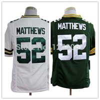 authentic white clay matthews jersey - Factory Outlet Exclusive High Discount Sales Clay Matthews White Green Men s Authentic Game Football Jerseys Size S XXXL Mix order
