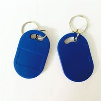 Wholesale 100PCS Writable Readable ISO14443A MHz RFID Smart IC Key Fobs Tags Cards IC Token For Parking system Attendance System