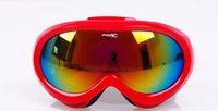 Wholesale Fashion glasses outdoor fun sport antimist anti UV child s glasses protection winter sport skiing eyeswear comfortable