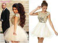 product gold sequins tulle dress toddler arabic first communion dressestulle flower girl dresses wed