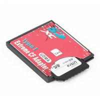 Wholesale NEW SD SDHC SDXC To CF Compact Flash Memory Card Adapter Reader