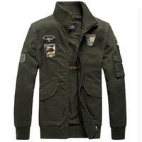air one equipment - Fall Men s Tactical Jacket Air Force One Men s Jacket Coat Male Military Equipment Outdoor Sports Tactical Clothing Plus Size M XL