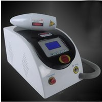 Wholesale 1064nm nm portable Q switched nd yag laser tattoo removal machine Acne scar spot removal