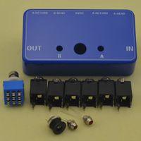 guitar pedal - DIY True Bypass Looper Effect Pedal Guitar Effect Pedal Looper Switcher true bypass guitar pedal Orange dual Loop switch Kits