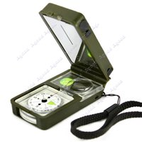 outdoor tools - Multifunction in Outdoor Camping Hiking Survival Tool Compass Kit SV005171