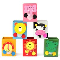 Wholesale Hot Selling Beautiful Design New Unique Cute Cartoon Wooden Multi function Pen Holder Pencil Holder Special Gifts for Students