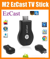 Wholesale Hi Q M2 EzCast Miracast Dongle TV stick HDMI P DLNA Miracast Airplay MirrorOP Display Receiver Dongle Support Windows iOS Andriod