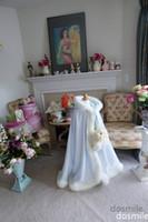 Wholesale 2016 light blue Girls Cape Wedding Cloaks Faux Fur shawl For Winter Kid Flower Girl Shrug Outerwear Coats
