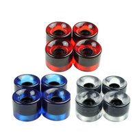 Wholesale Original Skateboard Wheels set Fish Plate High Strength Transparent Skate Wheel x45mm PU Material