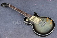 ace tiger - New arrive Grey Burst Tiger Flame Top China Custom Ace Frehley LP Electric guitar