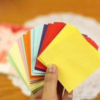 Wholesale Handmade Paper Fashion Color DIY Paper cranes Origami Supplies New Hot Sell Creative Fashion Shipping From China