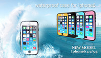 best cell phone skins - Waterproof Shockproof Hard Military Cases Covers PC Silicone Skin Protector Cell Phone Cases for Iphone factory sale Best Waterproof