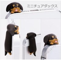 anti dust plug dog - New Arrival mm Dachshund WANKO Type Anti Dust Plug Ear Cap Kawaii dog earphone jack